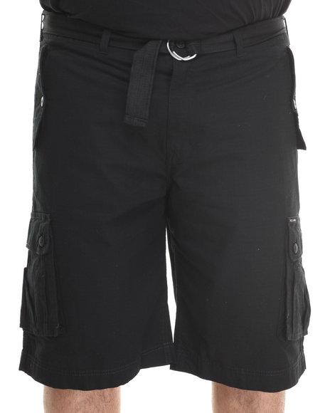 Rocawear - Men Black Blueprint 2 Cargo Shorts (B & T)