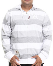 Hoodies - STRIPED ZIP-UP WITH HOOD (B&T)