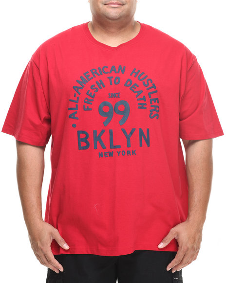 Rocawear Red Bk Hustle Tee