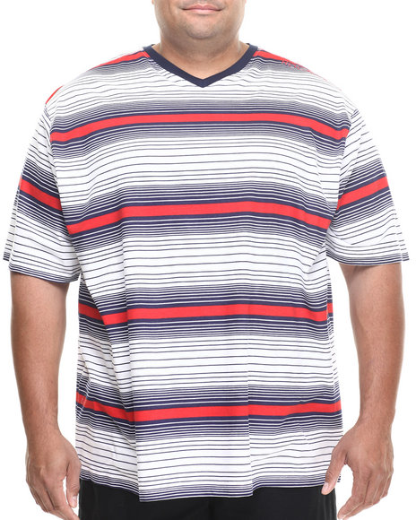 Rocawear - Stripe V-Neck Tee (B&T)