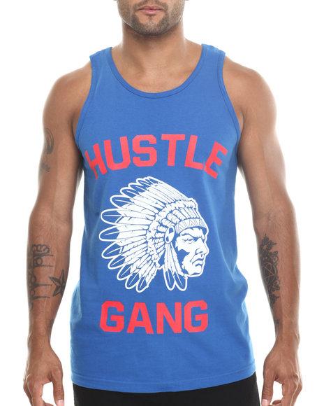 Hustle Gang Blue The Game Tank