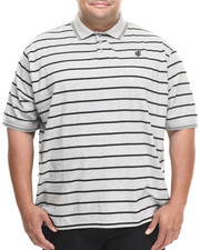 Shirts - Heather Stripe Polo (B&T)