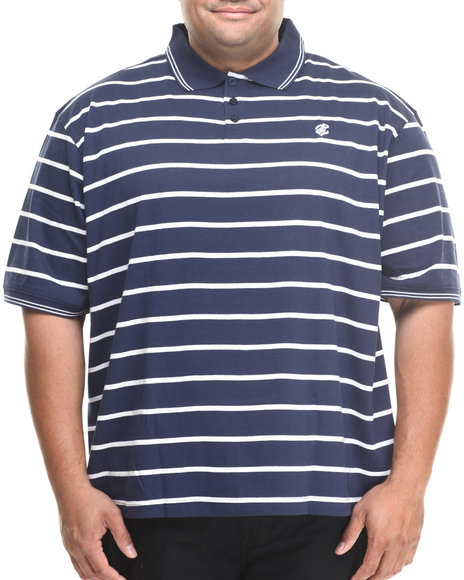 Rocawear - Heather Stripe Polo (B&T)