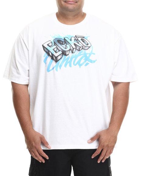 Ecko White Ecko Sketch T-Shirt (Big & Tall)
