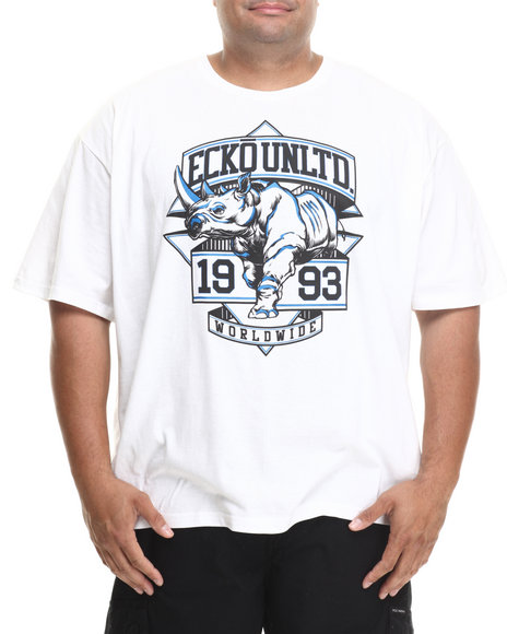 Ecko - Men White Unltd T-Shirt (B&T)