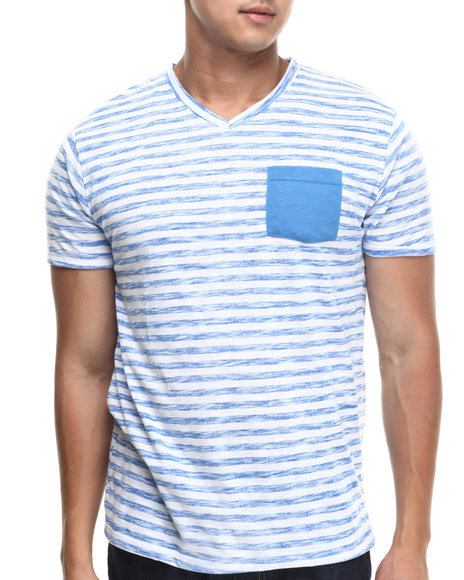 Basic Essentials Blue T-Shirts