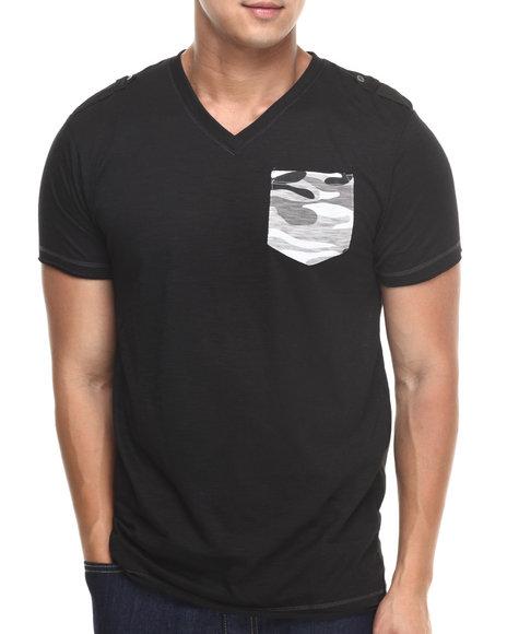Epaulet Shirts Mens