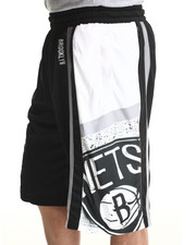 NBA, MLB, NFL Gear - B.K. NETS BLACK TEAM SHORTS