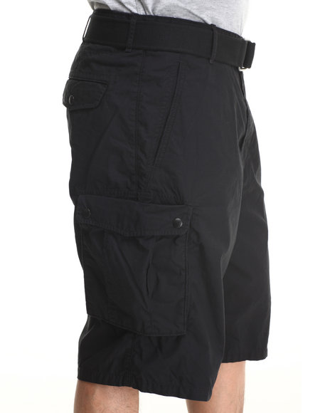 Levi's Black Snap Cargo Shorts