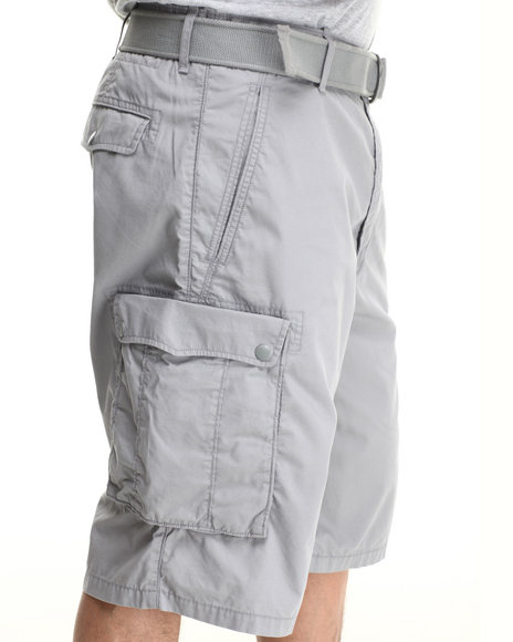 Levi's Grey Snap Cargo Shorts