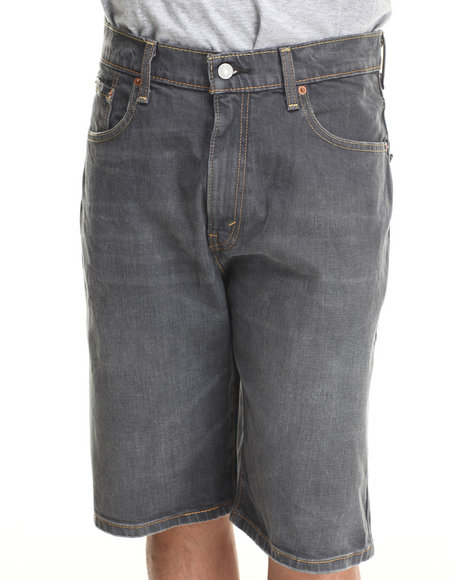 Levi's Grey 569 Loose Straight Fit Shorts