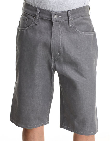 Levi's Silver 569 Loose Straight Fit Shorts