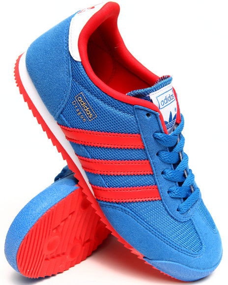 Adidas - Boys Blue Dragon J Sneakers (3.5-7)