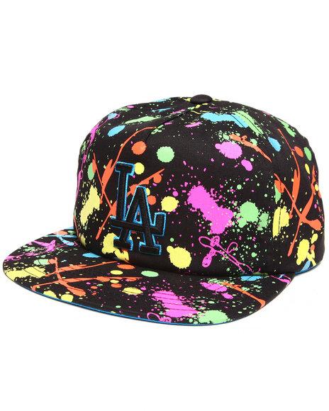 American Needle Los Angeles Dodgers Unicorn Splatter Snapback Hat Multi
