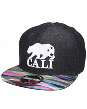 American Needle - California Bear Geo Tag Strapback Hat
