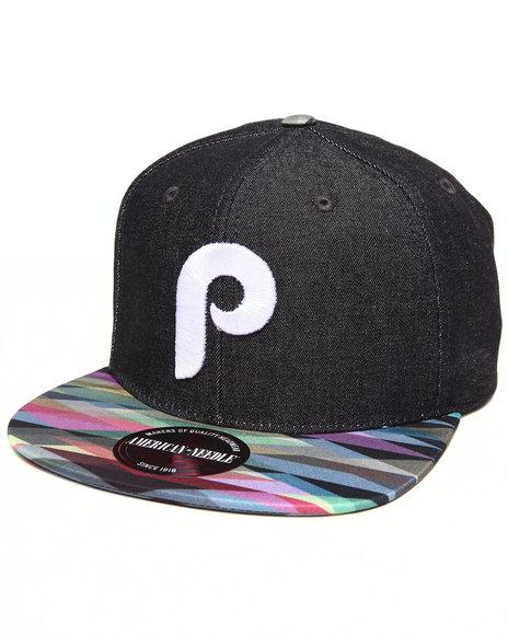 American Needle Philadelphia Phillies Geo Tag Strapback Hat Multi