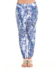 Women - Tribal Print Challis Soft Pant