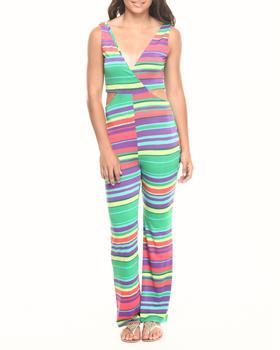 Fashion Lab - Criss Cross Side Cutout Jumpsuit