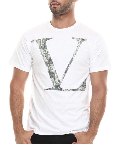 Vampire Life - Men White Vl Money T-Shirt