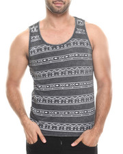 Shirts - Tribal Stripe Washed Tank