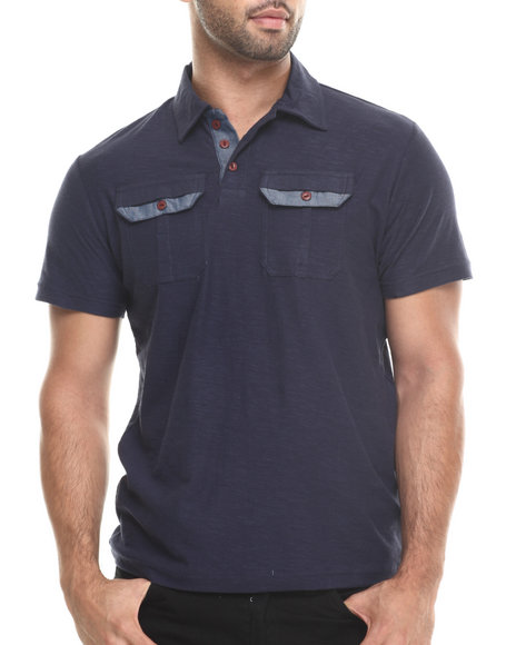Buyers Picks Navy Polos