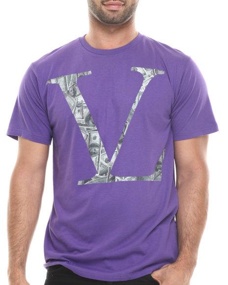 Vampire Life - Men Purple Vl Money T-Shirt