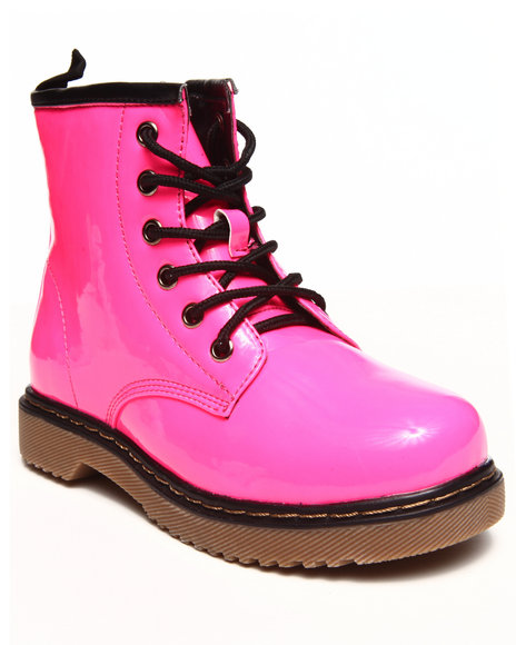 La Galleria - Girls Pink Jane Boot