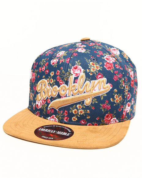 American Needle Brooklyn Dodgers Off The Vine Strapback Hat (Faux Multi