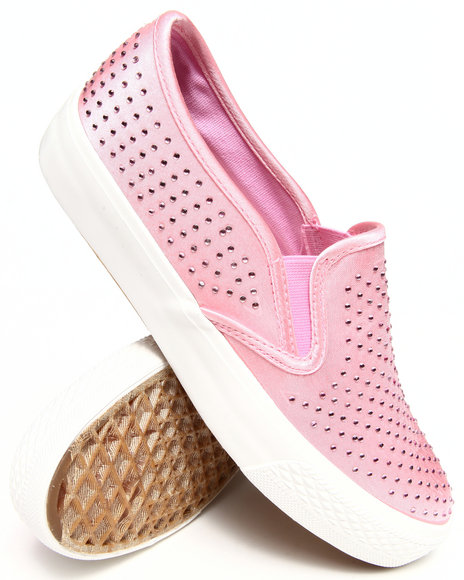 Fashion Lab - Women Coral Livvy Canvas Slip On Sneakers