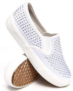 Fashion Lab - Livvy Canvas Slip On Sneakers