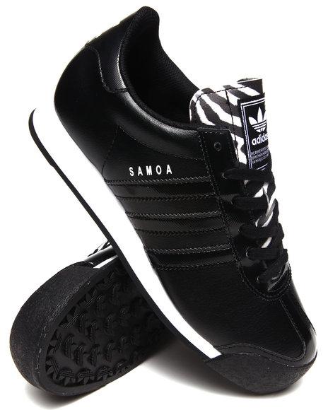 Adidas - Women Black Samoa W Sneakers - $59.99