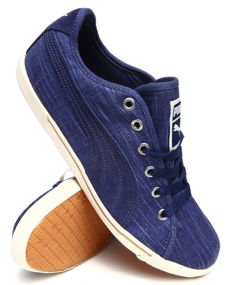 Puma Blue Benecio Drill Pack Sneakers