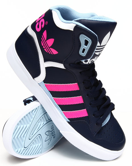 Adidas Navy,Pink Extaball W Sneakers
