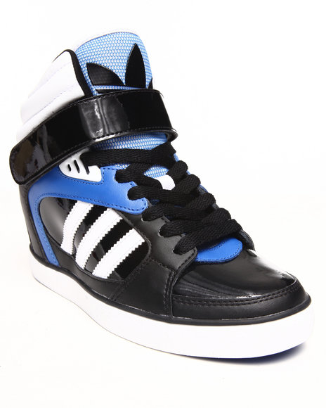 Adidas Black Amberlight Up Wedge Sneakers