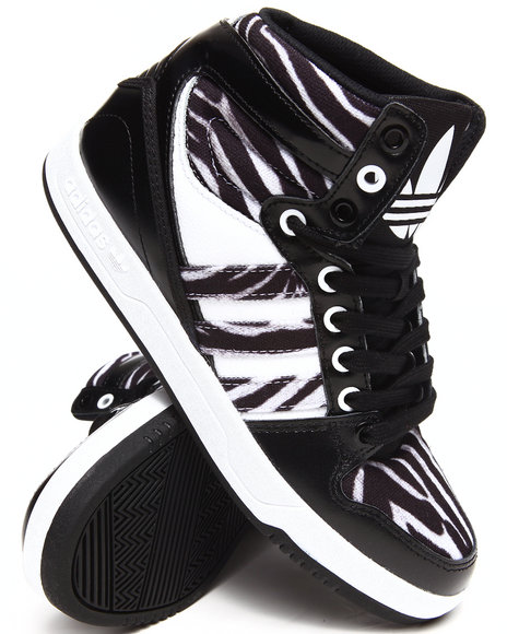Adidas Black Court Attitude Sneakers