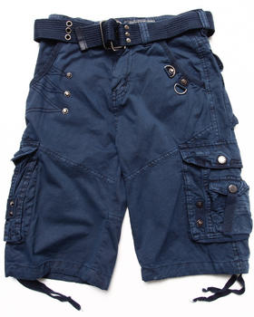 Arcade Styles - BELTED CARGO SHORTS (4-7)