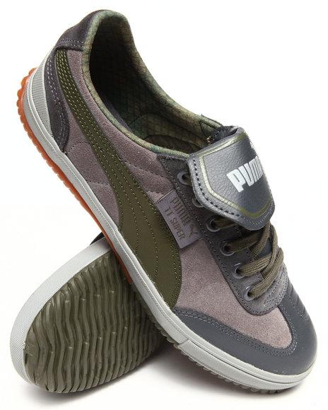 Puma Grey Tt Super Ls Sneakers