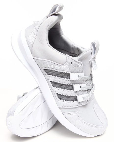 Adidas - Men Grey Sl Loop Runner Sneakers