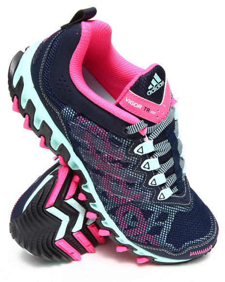 Adidas - Women Navy,Pink Vigor 4 Tr W Sneakers