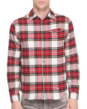 DJP OUTLET - Mark Jonster Polyester Lined Brushed Flannel Shirt