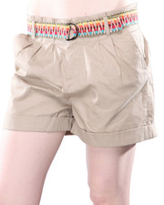 Women - Jack by BB Dakota Bora Cotton Twill Short w/Belt