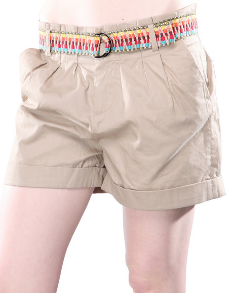 DJP OUTLET - Jack by BB Dakota Bora Cotton Twill Short w/Belt