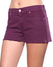 Women - 7 for All Mankind Cut Off Short w/Split Seam