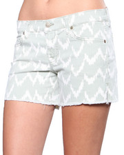 Women - 7 for All Mankind Ikat Cutoff Short