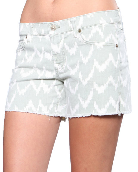 DJP OUTLET - 7 for All Mankind Ikat Cutoff Short