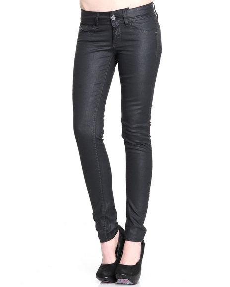 Djp Outlet Women G-Star Lynn Skinny Colored Denim Jeans Black 31