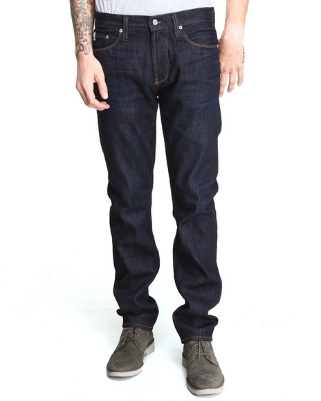 Big Star Men Archetype Slim Leg Selvedge Denim Jean Dark Indigo 30