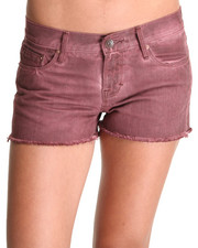 Women - Cult of Individuality Wine Tantra Shorts
