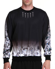 Men - KEENKEEE 20 Crystal Ombre Sweatshirt