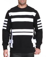 Sweatshirts & Sweaters - Geo Strap Crew